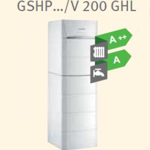 Тепловой насос De Dietrich GSHP …/V 200 GHL, GSHP …/B 200 GHL