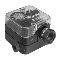 AA-A2: Дифференциальный датчик-реле давления для воздуха, дымовых и отработавших газов Dungs (США/CDN)