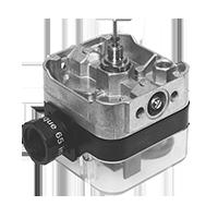 CPI 400 & Visual Indicator: Индикация позиции клапана и световой индикатор переключателя клапана (VI) (США/CDN) Dungs