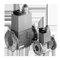 DMV 5…: Двойные модульные запорные клапаны безопасности (США/CDN) Dungs