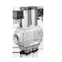 DMV 704 NEMA 4x & POC: Двойные модульные запорные клапаны безопасности с контролем закрытия и корпусом типа NEMA 4x (США/CDN) Dungs