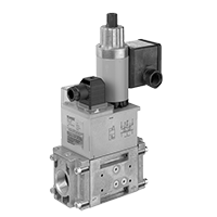 DMV ZR/602: Двойные модульные запорные клапаны безопасности с двухступенчатым принципом действия (США/CDN) Dungs