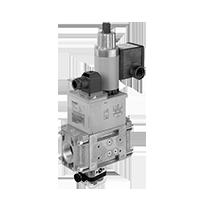 DMV ZR/612 & POC: Двойные модульные запорные клапаны безопасности с двухступенчатым принципом действия и контролем закрытия (США/CDN) Dungs