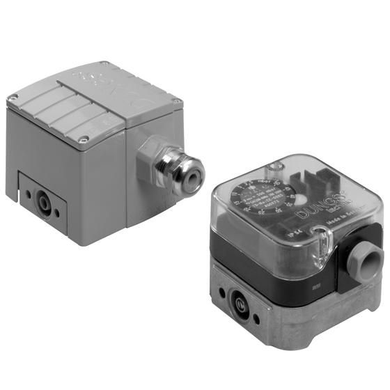 Дифференциальный датчик-реле давления Dungs GGW…A4…А4/2