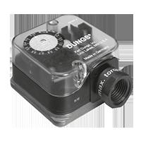 Dungs G…-A2 Датчик-реле давления для запорных клапанов безопасности DMV (США/CDN)
