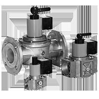 HSAV, HSAV/5: Запорный клапан с ручным управлением Dungs