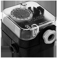 Дифференциальный датчик-реле давления Dungs LGW A2-7 для воздуха, дымовых и отработавших газов
