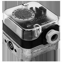 Dungs LGW…A4 Дифференциальный датчик-реле давления для воздуха, дымовых и отработавших газов Датчик-реле избыточного давления для газа