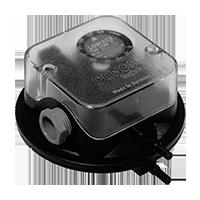 Dungs LGW…C2 Дифференциальный датчик-реле давления для воздуха, дымовых и отработавших газов