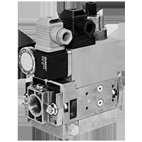 Dungs MB-D(LE) 405-412 B01 GasMultiBloc® (газовый мультиблок), модуль регулирования и безопасности, одноступенчатый режим эксплуатации