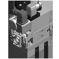 Dungs MB-VEF 407-412 B01 GasMultiBloc® (газовый мультиблок), модуль регулирования и безопасности, бесступенчатый плавный режим эксплуатации