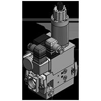 Dungs MB-ZRD(LE) 405-412 B01 GasMultiBloc® (газовый мультиблок), модуль регулирования и безопасности, двухступенчатый режим эксплуатации