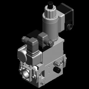 Dungs MB-ZRD(LE) 407-412 B07 GasMultiBloc® (газовый мультиблок), модуль регулирования и безопасности, двухступенчатый режим эксплуатации, встроенный байпасный клапан