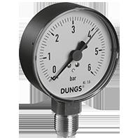 Dungs Манометр, кнопочный кран, запорный клапан для манометров