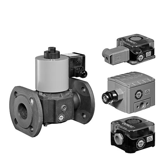 Dungs Biogas Датчик-реле давления и клапаны Биогаз