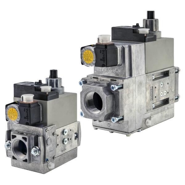 Бесступенчатый мультиблок MB-VEF Dungs MB-VEF 415-425 B01 GasMultiBloc®, модуль регулирования и безопасности, бесступенчатый плавный режим эксплуатации