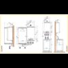 Газовый настенный конденсационный котел De Dietrich Vivadens MCR 24/BS 80 2062