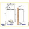 Газовый настенный конденсационный котел De Dietrich Vivadens MCR 34/39 MI 2048