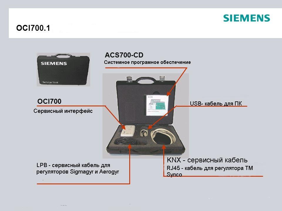 Сервисный комплект с ПО и адаптером Siemens OCI700.1 теперь в продаже