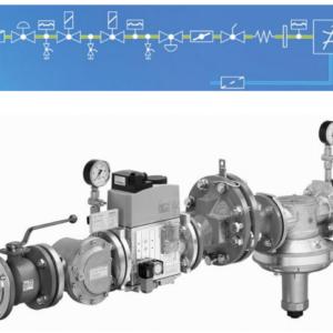 Газовые линии DUNGS для дома и промышленности