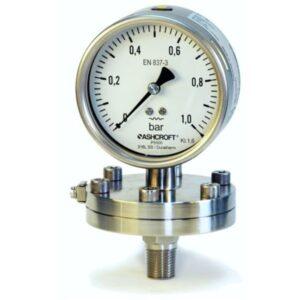 Мембранные манометры низкого давления. Модели P5500 и P6500.