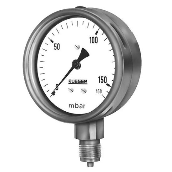 Манометр с измерительной капсулой для малых давлений Rueger