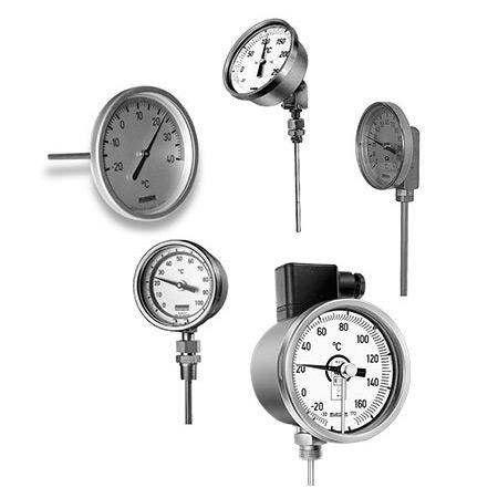 Термометры биметаллические серий TT, TS, TH, TM, TC Rueger