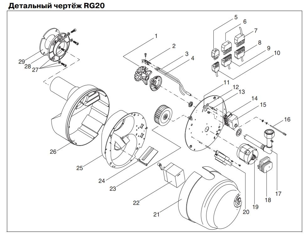 Для RG20 / RG30 (2007)