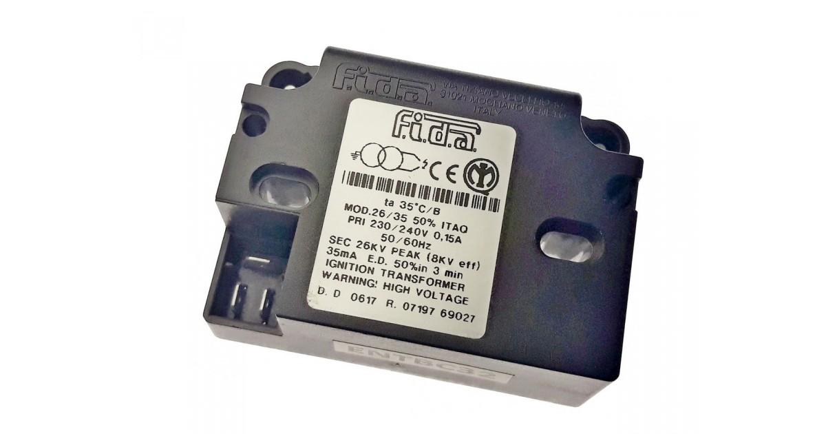 Высоковольтный трансформатор (блок зажигания) FIDA 26/35  ITAQ 50% 26kV
